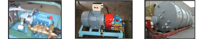 hydrostatic pressure testing services